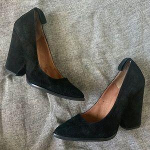 Jeffrey Campbell black Park Avenue heels size 7